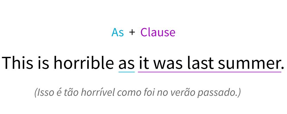Fórmula para executar uma frase usando like e uma frase ou cláusula.