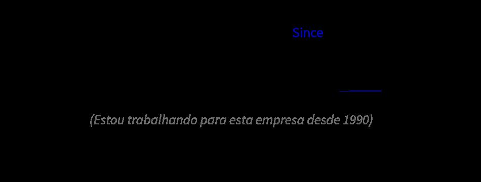 Exemplo de uso do Since.